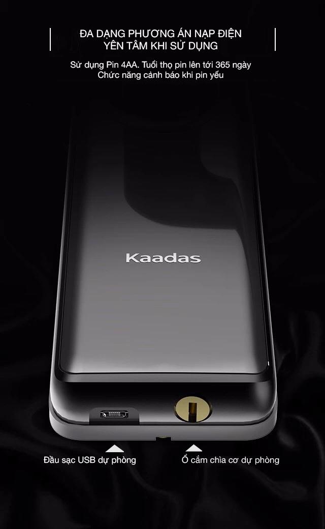 khóa cửa vân tay Kaadas S7