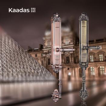 Khóa cửa vân tay tân cổ điển Kaadas 6001