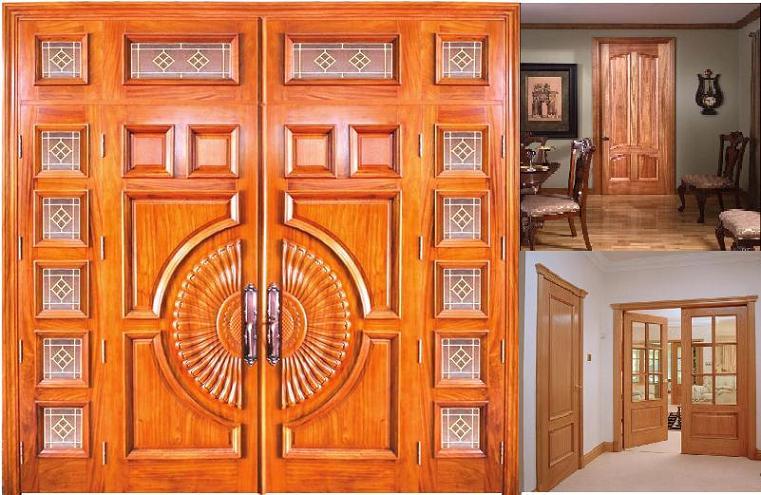 Kích thước cửa đi 4 cánh không bằng nhau