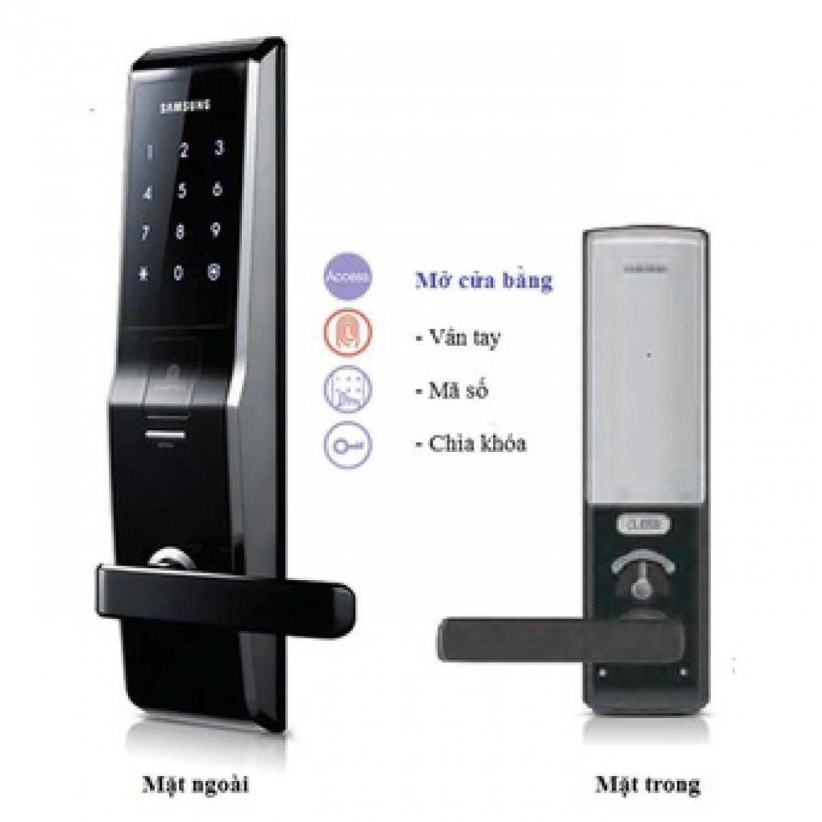 Khoá cửa điện tử Samsung SHS H705