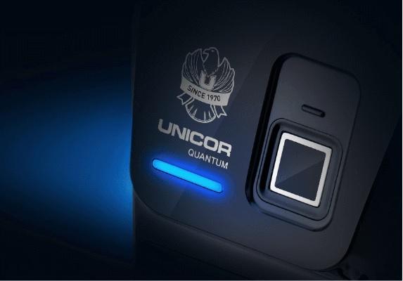 Khoá cửa vân tay Unicor UN7200BK-F