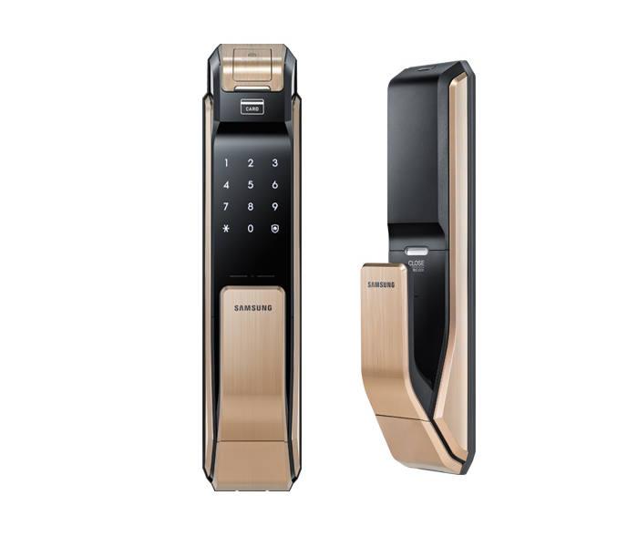Khoá cửa điện tử Samsung SHS DP718