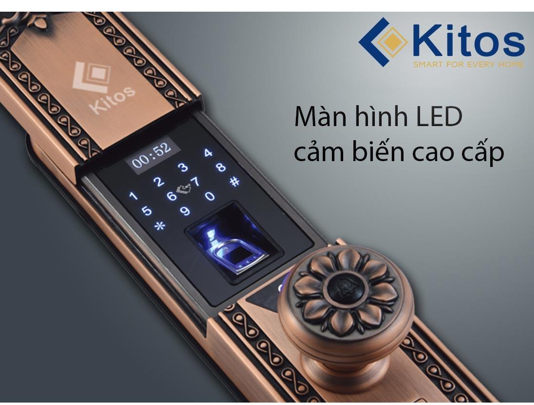 Khóa cửa vân tay Kitos KT-C300