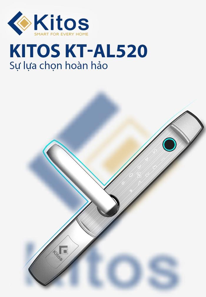 Khóa cửa vân tay nhôm Xingfa Kitos KT-AL520