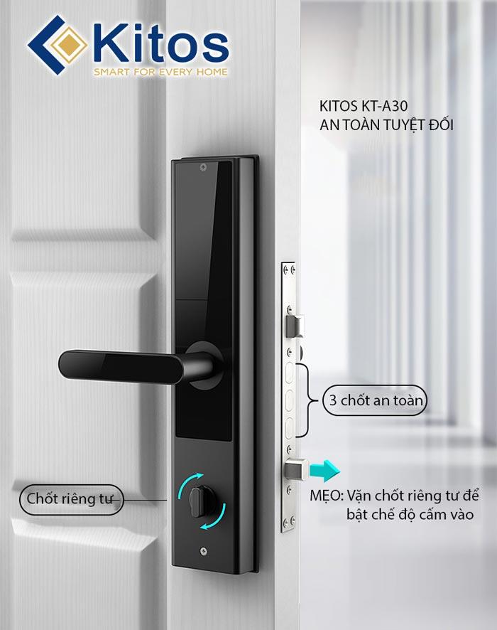 Khóa cửa điện tử Kitos KT-A30