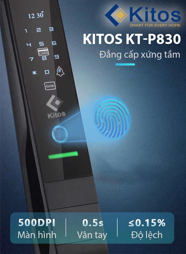 Khóa cửa vân tay Kitos KT-P830