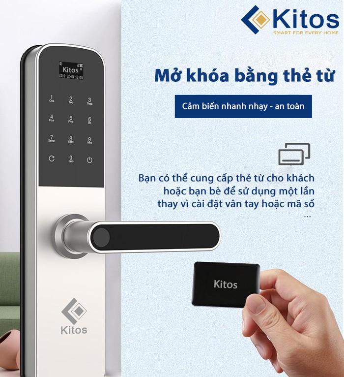 Khóa cửa điện tử cửa thông phòng Kitos G600