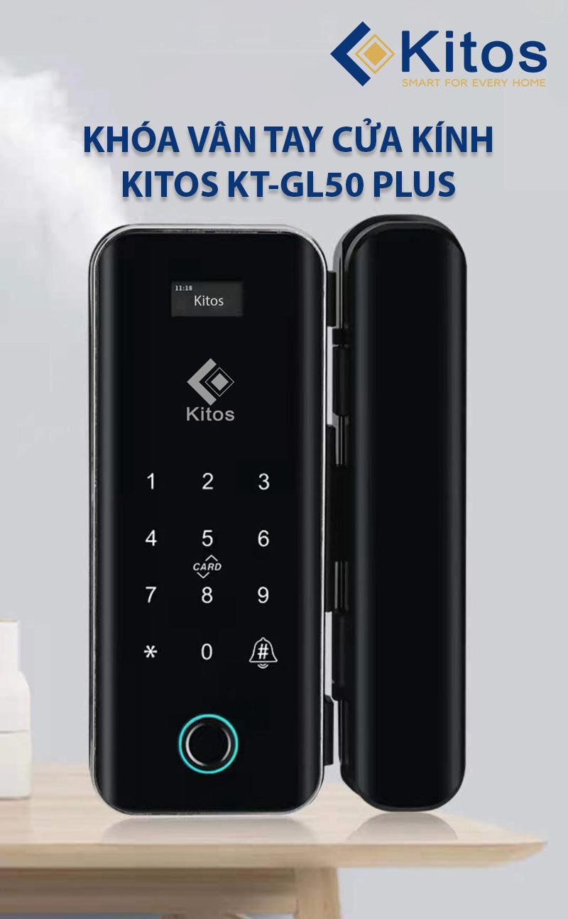 Khóa điện tử cửa kính Kitos GL50 Plus