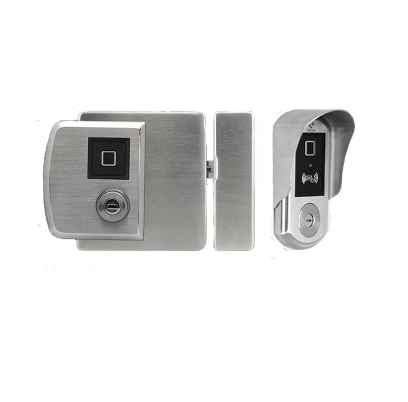 Khoá vân tay cửa cổng hai chiều Kitos DL02 Pro